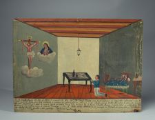 1853 Mexican Ex-Voto Painting