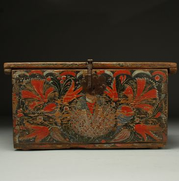 Colonial Painted Box - Michoacan