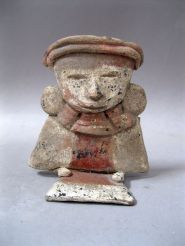 Teotihuacan seated figure
