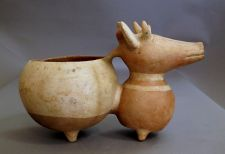 Huacho Large Deer Vessel