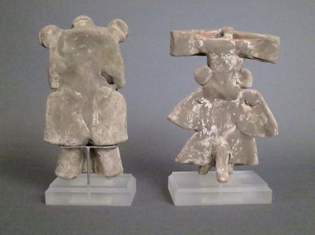 Pair of Teotihuacan Standing Figures
